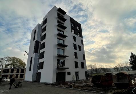 Kaunas (vokiečių g.)  fasadų lauko apdailos darbai, visuomeninės paskirties vidaus patalpų apdailos darbai 2020-2021