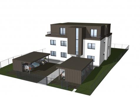 Planuojama gyvenamojo namo (6 butų) statyba, sodų g., Kaunas 2021m.